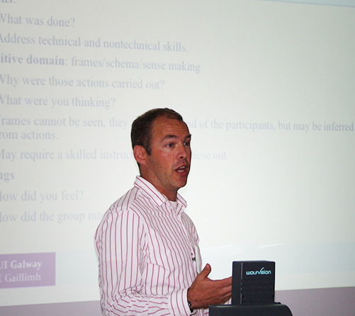 Dr. Paul O' Connor - Simulation Programme Director