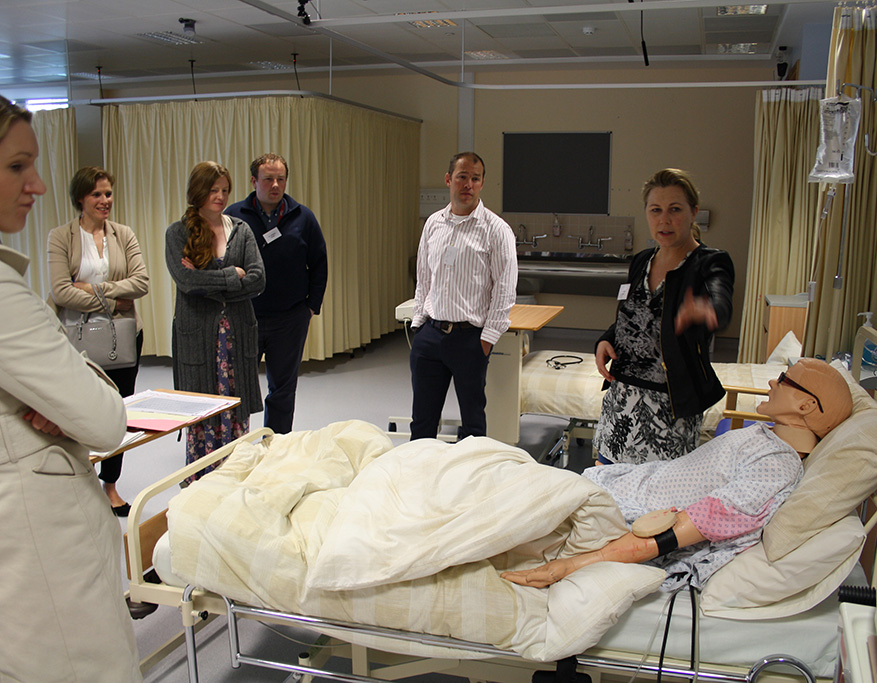 Simulation Training for Healthcare Workers